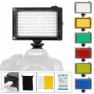 Ulanzi 96 Led Camera Light With Battery And 6 Color Gels, Portable Photo Video P