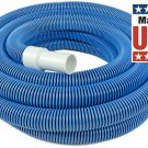 40 Feet In Ground Pool Vacuum Hose With Swivel Cuff Heavy Duty For Swimming Pool