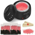 Waxing Kit For Women, Regalico Wax Warmer With 4 Bags Painless Hard Wax Beans Ha