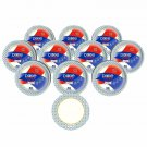 """Dixie Ultra Paper Plates, 8 1/2"""", 300 Count, 10 S Of 30 Plates, Lunch Or Light D"""