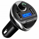 Criacr Tooth Fm Transmitter For Car, Wireless In-Car Fm Radio Transmitter Adapte