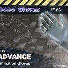 Diamond Gloves  Advance Nitrile Examination Powder-Free Gloves, 6.3 Mil, Heavy D