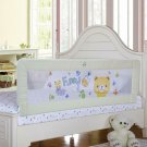 Baby Bed Rail Children Extra Long Bed Guard Toddler Safety Fold Down Bedrail Pot