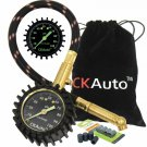 """Ck Auto Tire Pressure Gauge 100Psi - Certified Ansi B40.1 Accurate With  2"""" Glow"""