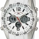 U.S. Polo Assn. Sport Men'S Us9282 Silver-Tone Watch With  Silicone Band