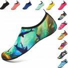 Vifuur Water Sports Shoes Barefoot Quick-Dry Aqua Yoga Socks Slip-On For N Won K