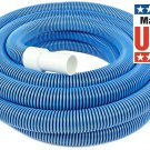 In Ground Pool Vacuum Hose With Swivel Cuff 30Ft Heavy Duty For Manual Vacuuming