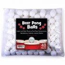 Sportly Beer Pong Balls, 144 , 38Mm, Great For Table Tennis  Ping Pong Tournant