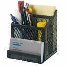Bonsaii Home Office Metal Mesh Desktop Organizer 3 Divided Compartments,(W6023)