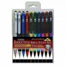 Gtl 10 Piece Inductive Bible Study Pen/Pencil Set