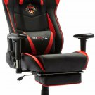 Ficmax Massage Gaming Chair Reclining Racing Office Chair High Back Gamer Chair