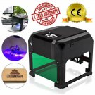 Topdirect 3000Mw Laser Engraving Machine Mini Laser Engraver Printer Ce Approved