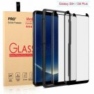 [2-] Galaxy S8 Plus Screen Protector Glass [Easy Installation Tray], Iander 3D C