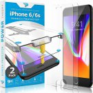 Power Theory Iphone 6S / Iphone 6 Glass Screen Protector [2-] With Easy Install