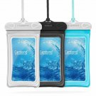 Floating Waterproof Phone Pouch, Cambond 3  Waterproof Phone Case, Transparent P
