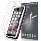 [3 ] Lk Screen Protector For Iphone 6 / Iphone 6S, [Tempe Glass][Case Friendly]