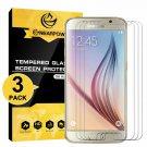 [3 ] Samsung Galaxy S6 Screen Protector, Nearpow [Tempe Glass] Screen Protector