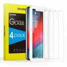 [4 ] Screen Protector For Iphone Xs/Iphone X, Sparin Tempe Glass Screen Protecto