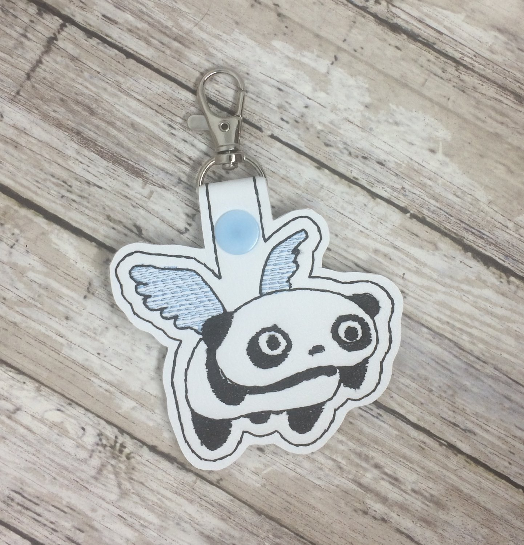 Angel Panda Key Fob
