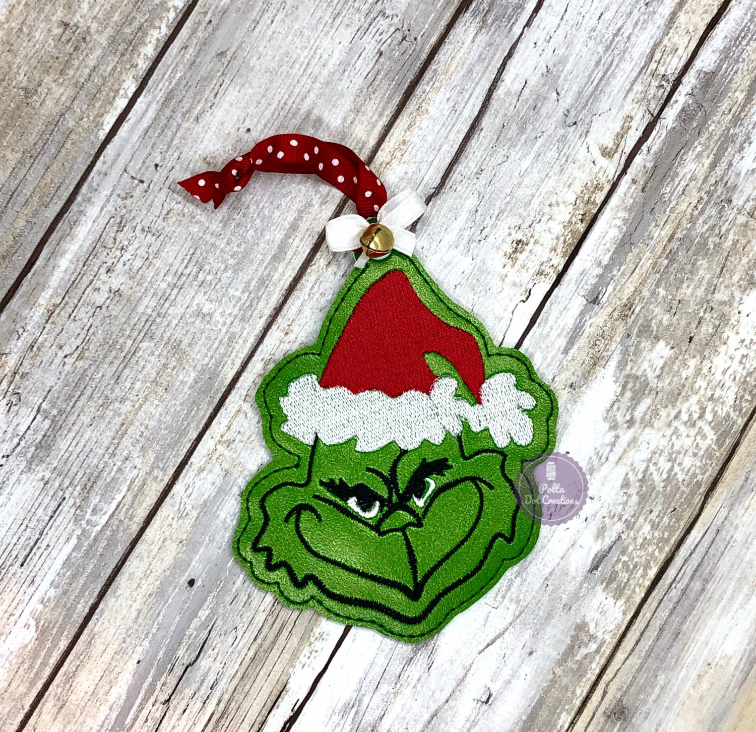 Mean One Grinch  Ornament