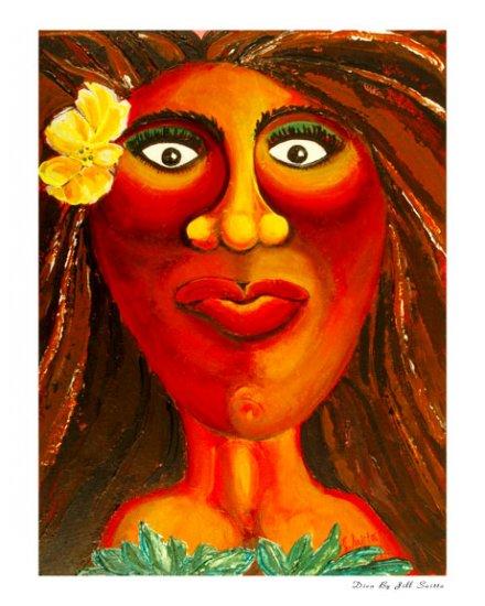 Diva, reproduction, Jill Saitta, 8x10
