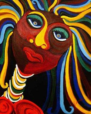Island Girl, Reproduction, Jill Saitta, 8x10