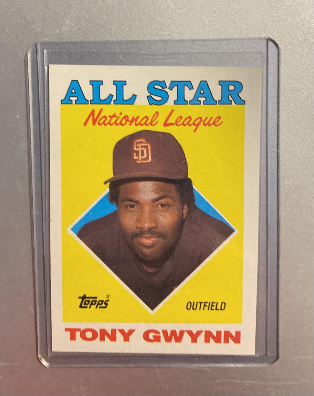 1988 Topps Tony Gwynn #402 AS