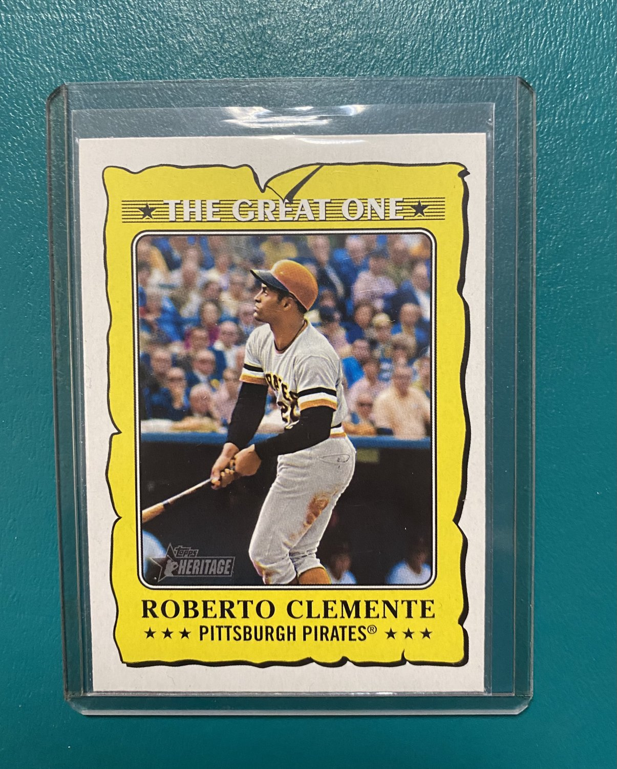 2021 Topps Heritage The Great One Roberto Clemente #GO-17