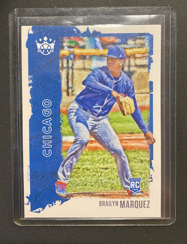 2021 Diamond Kings Brailyn Marquez #37 RC