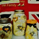 Honey Bee family Pots