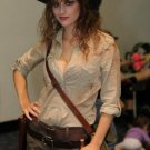 Female indiana jones costume with hat for ladies women
