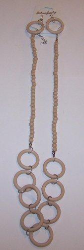 Tan Hoop Necklace