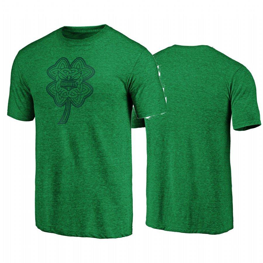 Women Charlotte Hornets Green T-shirt