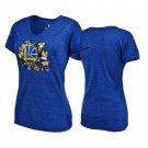 Youth Golden State Warriors Disney Minnie Bouquet Royal T-Shirt