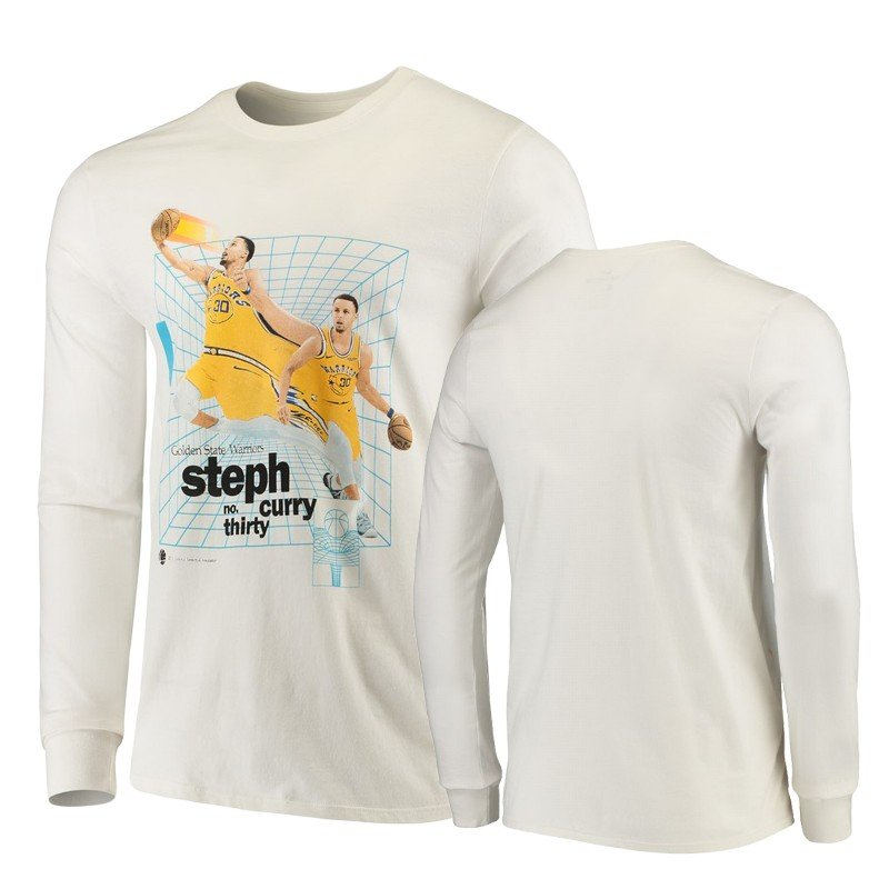 Youth Golden State Warriors Stephen Curry Time Warp Long Sleeve T-shirt