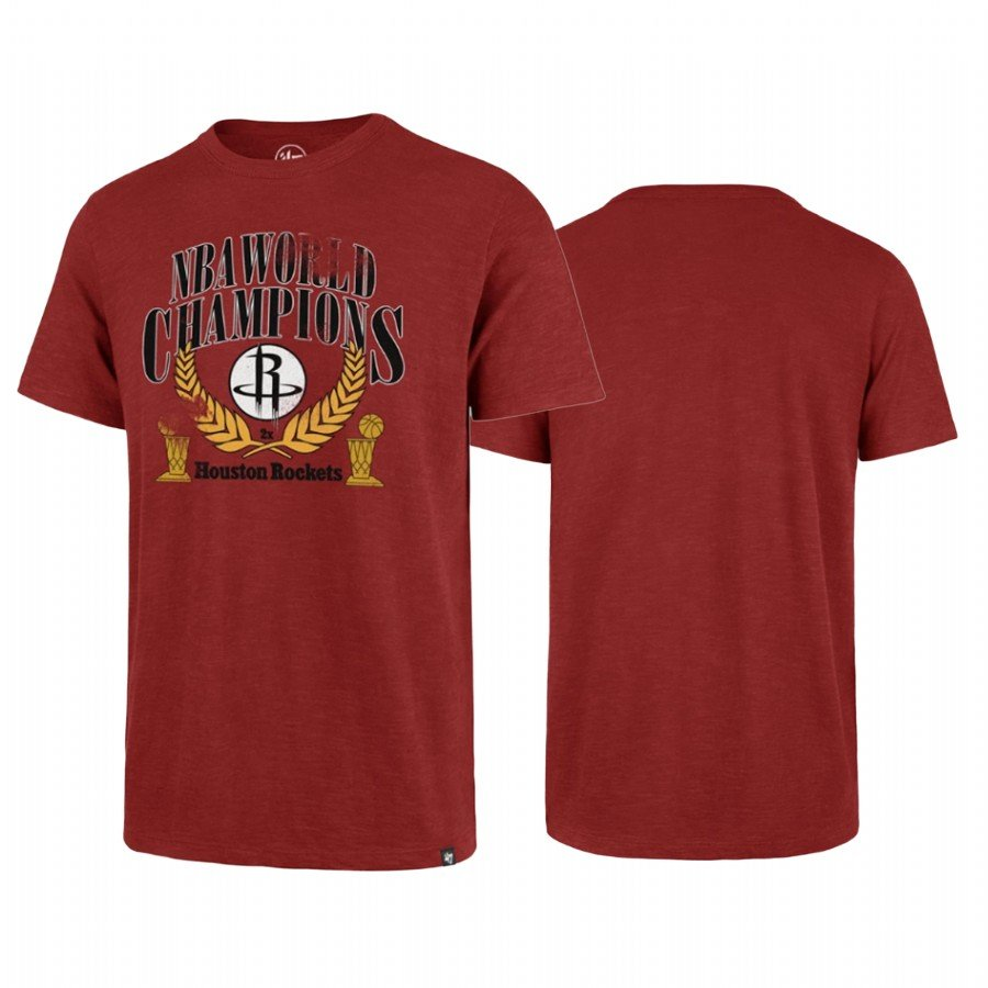 Youth Houston Rockets Chmpions '47 SCRUM T-Shirt