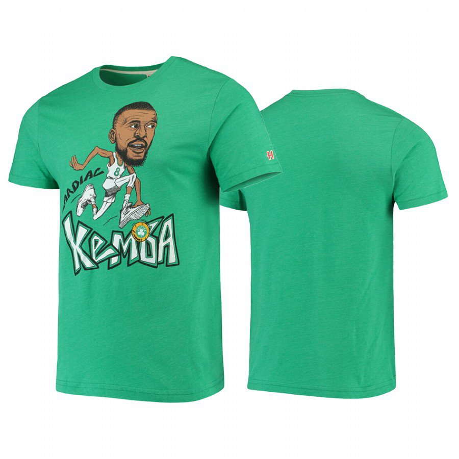 Youth Kemba Walker Caricature Tri-Blend T-Shirt