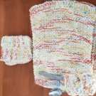 Knitted Pocket Place-mats Set