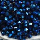 3mm 1000ct  Swarovski Bicone Dark Blue