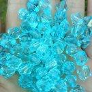 120ct 8mm Bicone Light Blue Swaovski Crystal Beads