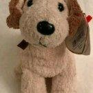 "Ty RUFUS Retired Beanie Babies Dog Theme February 28, 2000 7"" Long"