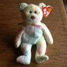 "Ty ""Groovy""  Circus Bear Retired Beanie Babies January 10, 1999"
