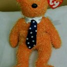 Father's Day Ty PAPPA Retired Beanie Baby Bear  June 15, 2002 Pre-Owned