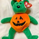 Ty Tricky Retired Beanie Babies Halloween Bear November 25, 2002