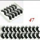5 Pair #47 False Mink Eyelashes