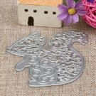 Squirrel DIY Cutting Die For Crafting Projects Or Embossing