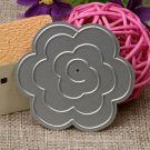 Rose DIY Cutting Die For Crafting Projects Or Embossing