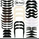 36pc Package Fake Mustaches