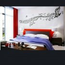 Music Notes Butterfly Wall Sticker