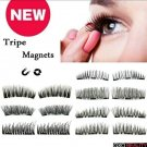 Style 2  Triple 3D Magnetic False Eyelashes 2 Pair